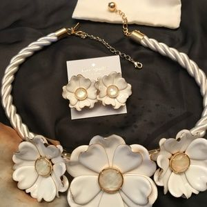WOW Kate Spade Bright Blossom Necklace & Earrings!